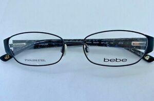Bebe BB5047 Fresh 001 Jet 53.16.140 Eyeglass Frame Women @021