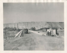 WWII 1945 US Army 10th Recon 4x5 Photo #1 President Roosevelt Bridge France?