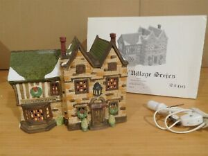 Dept 56 Dickens Village - Chesterton Manor House - #2406  RARE!!