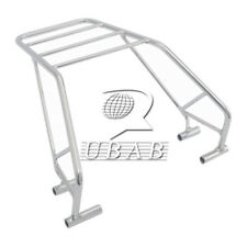 Big Chrome Mutazu Rear Luggage Rack For Honda Nighthawk CB 250 Custom Functional
