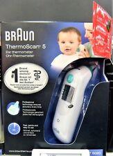 Braun ThermoScan 5 Infrarot Fieberthermometer Ohrthermometer IRT6020 - NEU OVP