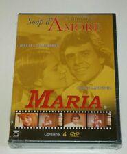 COLLANA SOAP D'AMORE- MARIA - Jorge Martinez 4 DVD COFANETTO ORIGINALE SIGILLATO