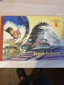 Kinderbuch DDR , Frank träumt... , Verlag Rudotf Forkel Pössneck