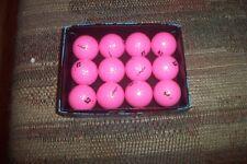 2 dozen BRAND NEW 2016 Bridgestone Precept Lady Pink golf balls bulk special