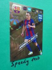 PANINI 2017 ADRENALYN 2018 FIFA 365 Limited Edition Barcelone Iniesta 17 18