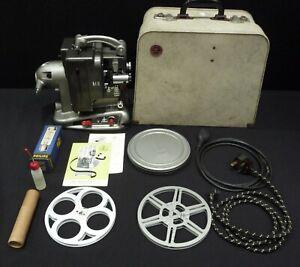 Bolex Baillard M8 Cine Film Projector 8mm in unusual carrycase with spares