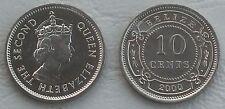 Belize 10 Cents 2000 p35 unz.
