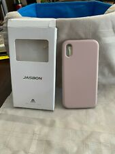 Fashion Mobile Phone Case JasBon Light Pink Case Fits iPhone XR 6.1