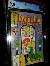 ROYAL ROY 1 CGC 9.8 RICHIE RICH HOMAGE 1985