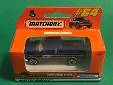 1999 Matchbox 1/64 Diecast #64 1997 Ford F-150 Pick Up Truck Mint in Box MQ