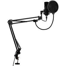 Talent HBS1 All-in-One Home Broadcast Studio USB Mic Shock mount Scissor boom  P
