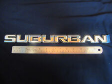 "NEW OEM GM 2000-2006 "" Suburban "" Chrome Emblem Badge Nameplate"
