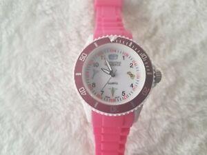 Prestige Medical 1989-HPK Pink Nurse Symbols Watch