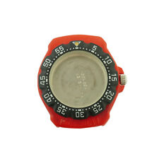 TAG HEUER FORMULA 1 385.513 BLACK BEZEL / RED CASE FOR PARTS OR REPAIRS