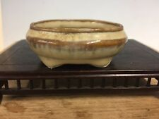 Accent Or Mame Sized Bonsai Tree Pot Made By Tosui 3 1/8""