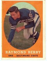 Raymond Berry 1958 Topps Vintage Football Card Baltimore Colts #120 VG/EX