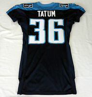#36 Tatum of Tennessee Titans NFL Game Issued Jersey
