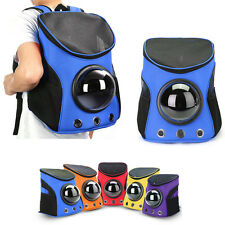 Breathable Astronaut Capsule Pet Cat Dog Travel Bag Backpack Oxford Carrier PC