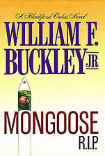 USED (LN) Mongoose R. I. P. by William F. Buckley Jr.