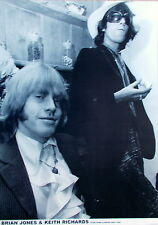 Brian Jones and Keith Richards - Brand New Poster 84 x 59cm - Rolling Stones