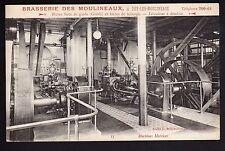 BRASSERIE théme LA BIERE CPA 92 ISSY LES MOULINEAUX  brasserie des moulineaux 4