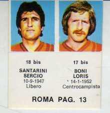 FIGURINA GOAL CREMA 1976//77-SAMPDORIA-PAG 14-ZECCHINI 6 bis-VALENTE 5 bis