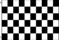 BLACK AND WHITE CHECKERED RACING FLAG 3 x 5 NASCAR #ST65 Free Shipping