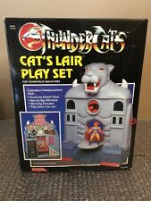 1986 Kid Works Thundercats Cat's Lair Play Set For Mini Figures  MIB Catslair