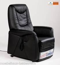 Himolla Sessel 9771 / 26 Y Aufstehhilfe -2 Motor Fernsehsessel Leder Schwarz NEU