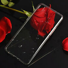 TPU Gel Jelly Case Cover For Oppo R9 - Crystal Clear