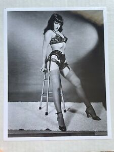 8 x 10 Photograph of Bettie Page Pinup Girl -- Repro from Original Negative  AA