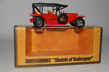MATCHBOX YESTERYEAR #Y-9 1912 SIMPLEX, RED & YELLOW W/ BLACK ROOF, BOXED