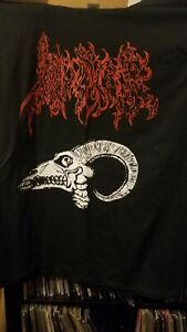 Invoker Brazil size L Shirt, Blasphemy, Beherit, Samael, Sarcofago Black Metal