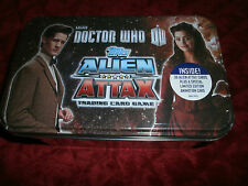DR. WHO DOCTOR WHO TOPPS ALIEN ATTACK TRADING CARD GAME