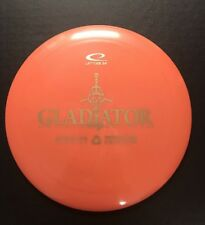 New Latitude 64 Recy Gladiator Df Sign Disc Golf Distance Driver Orange 173grams