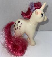 My Little Pony G1 MLP 1983 MOONDANCER White Unicorn Stars & Crescent Moon Cutie