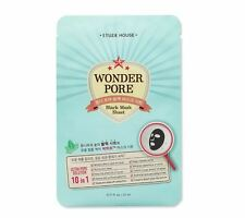 Etude House Wonder Pore Black Mask Sheet 21ml + Free Sample/ Korean Cosmetics UK