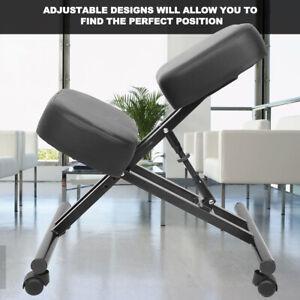 Kneeling Chair Ergonomic Posture Corrective Knee Stool Chair for Bad Back Suppor
