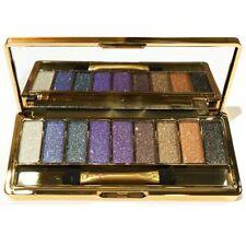 9 Colors Diamond Shimmer Eyeshadow Palette & Makeup Brush Set Waterproof UK 4.