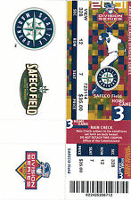2001 ALDS SEATTLE MARINERS TICKET GAME 3
