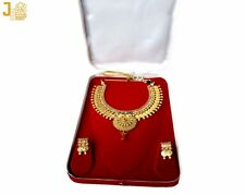 Traditional Laxmi Haar Necklace Indian costume jewellery with earrings MN014