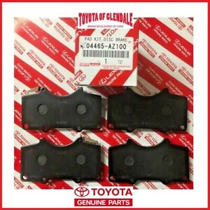 2005-2020 TOYOTA TACOMA FRONT CERAMIC BRAKE PADS GENUINE OEM NEW 04465-AZ200