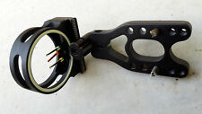 ARCHERY HUNTING SIGHT,STRONG,RELIABLE,ACCURATE. ADJUSTABLE.3 FLURO PIN.
