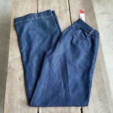 Maternity Elly B by Olian Wide Leg Denim Jeans Pants NEW NWT Size Medium