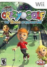 KIDZ SPORTS: CRAZY GOLF Wii