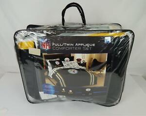 NFL Pittsburgh Steelers Comforter/Sham Bed Set Size Full/Twin - New