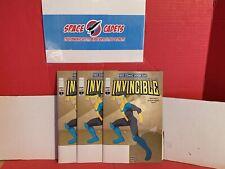 Lot Of 3 Image Comics Invincible #1 Kirkman Walker Crabtree Prime Video Show