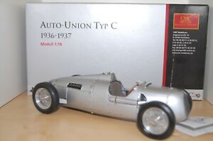CMC AUTO-UNION TYP C 1936-1937 1:18 Scale  - USED - ITEM No. M-034 -