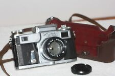 KIEV 4 Russian Rangefinder copy of CONTAX German Camera - film tested - EXC