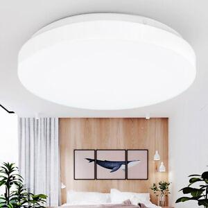 Außen-Deckenlampe LED Sensor Decken-Leuchte 360º Bewegungsmelder Bad-Lampen DE